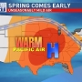 Record breaking temps; Warmest weekend in 3 months