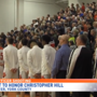 Local high school basketball teams put rivalry aside to honor fallen US Marshal