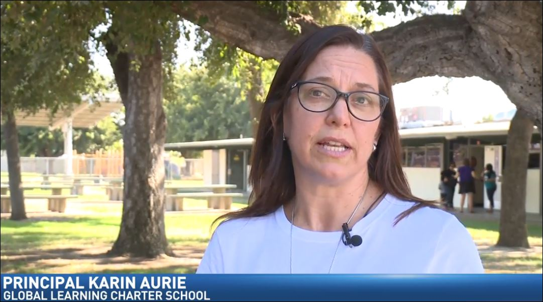 Principal Karin Aurie says nearly 400 students are expected to enroll for the upcoming school year. (FOX26)