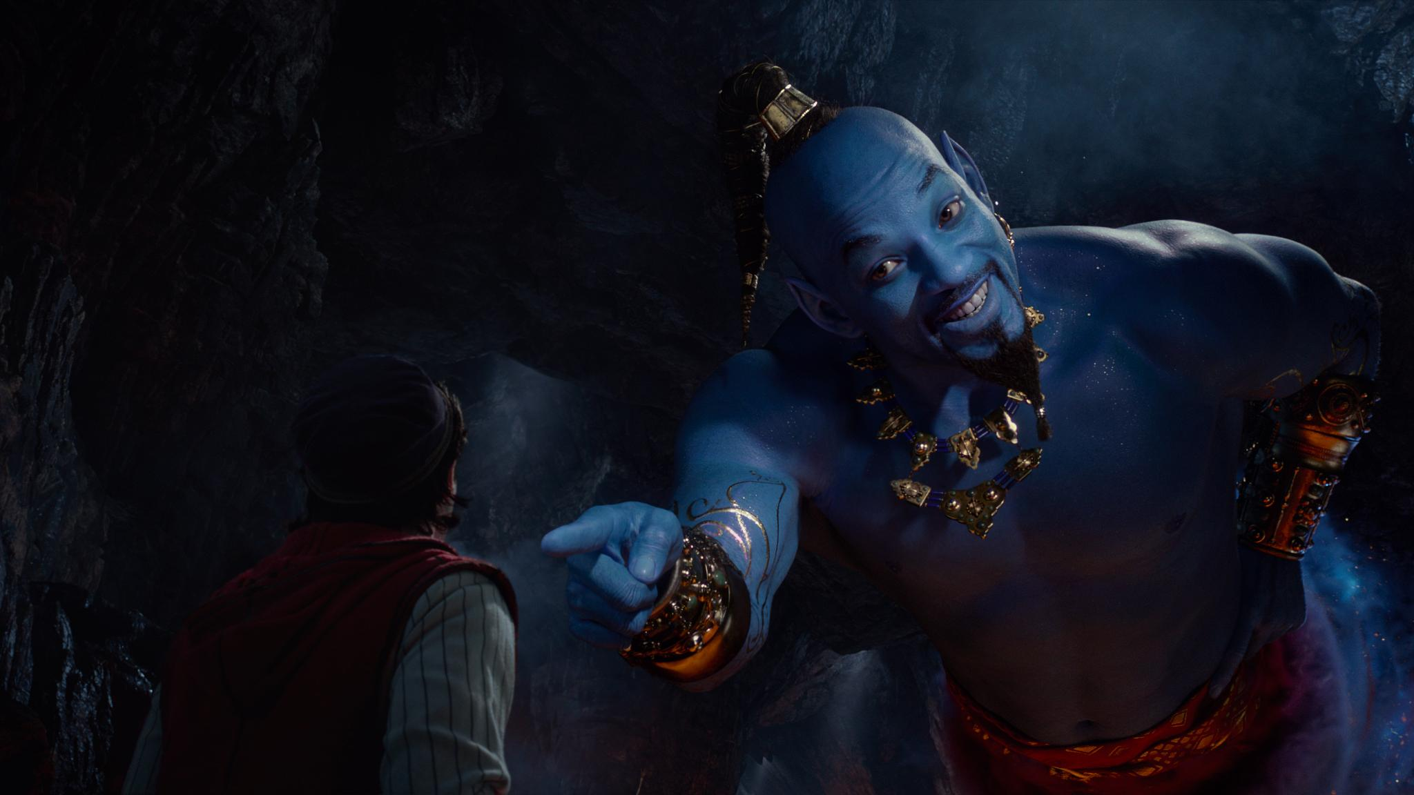 Image courtesy of Disney's live-action ALADDIN, directed by Guy Ritchie.