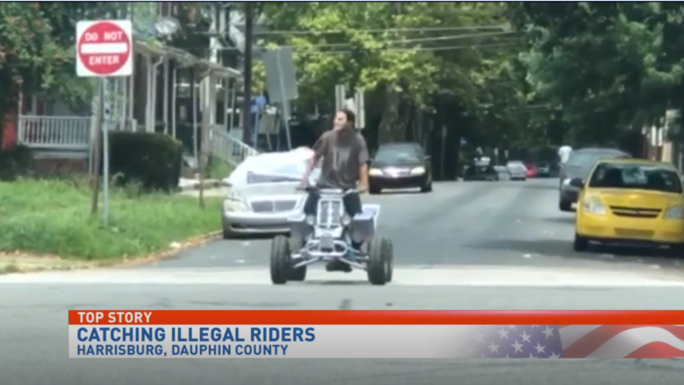 Illegal ATV riders joyriding causing dangerous road conditions   WHP