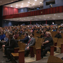 "Johnny ""O""'s first Town Hall draws about 200 to Loch Raven H.S."