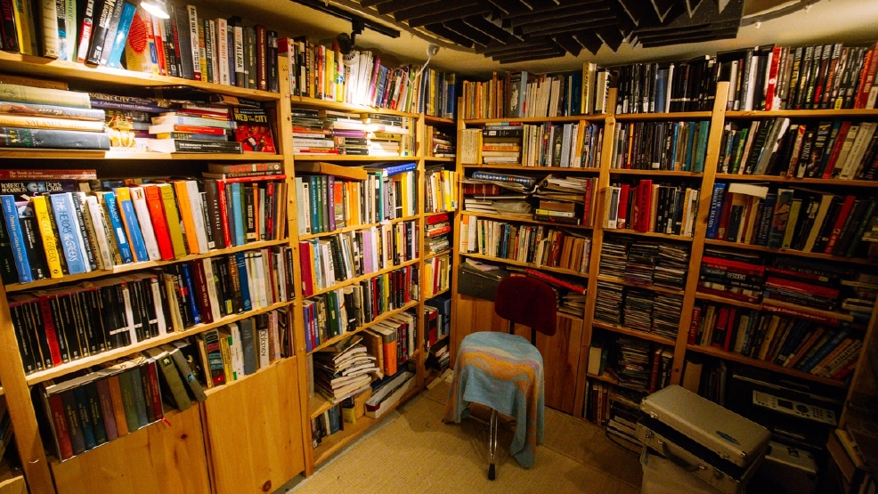 Behind The Bookshelf At Home With A Librarian