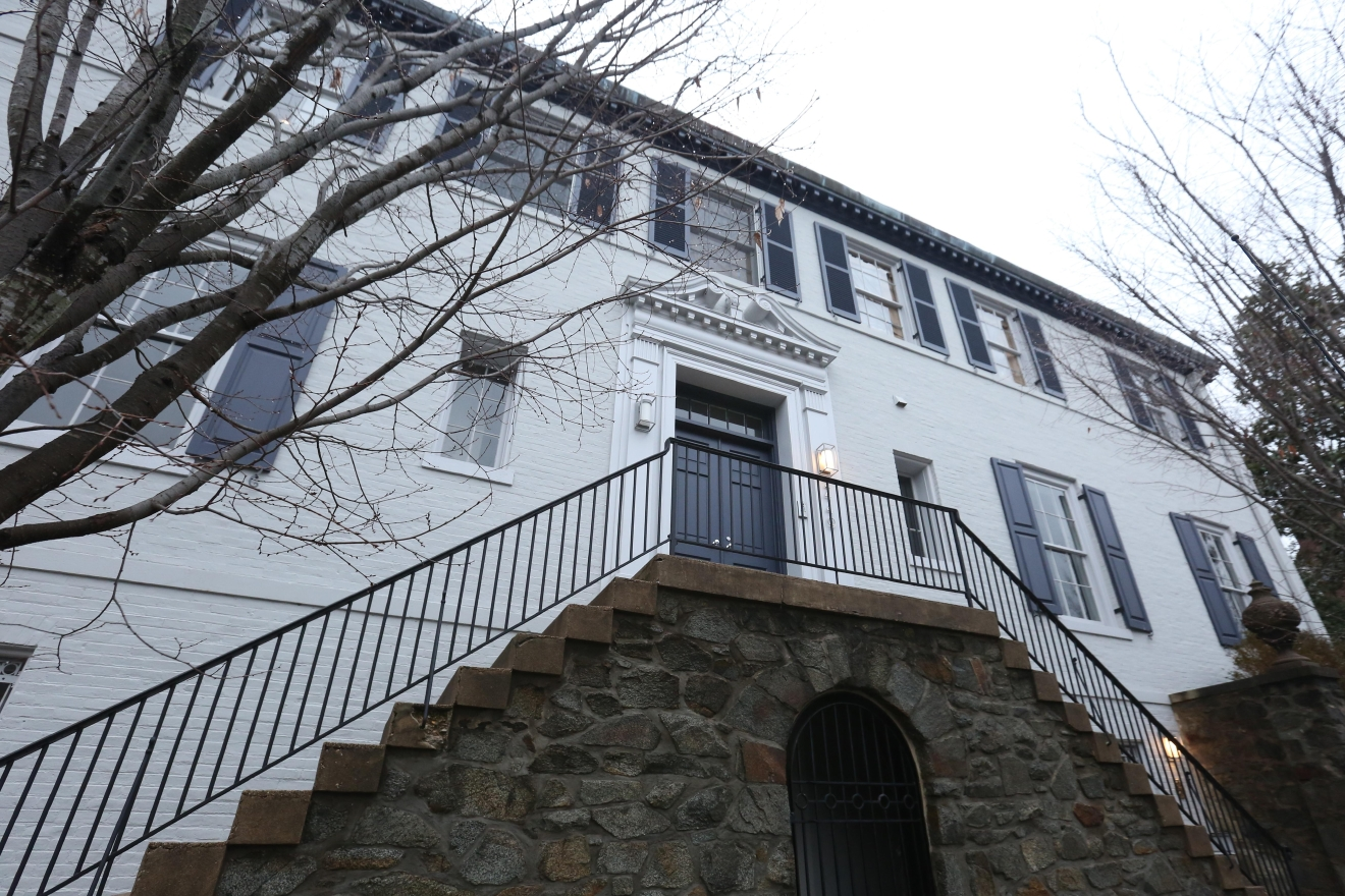 Ivanka Trump and husband Jared Kushner are reportedly moving to 2449 Tracy Pl NW in Kalorama -- the same neighborhood where the Obama family will live when they vacate the White House. (Image: Amanda Andrade-Rhoades/ DC Refined)
