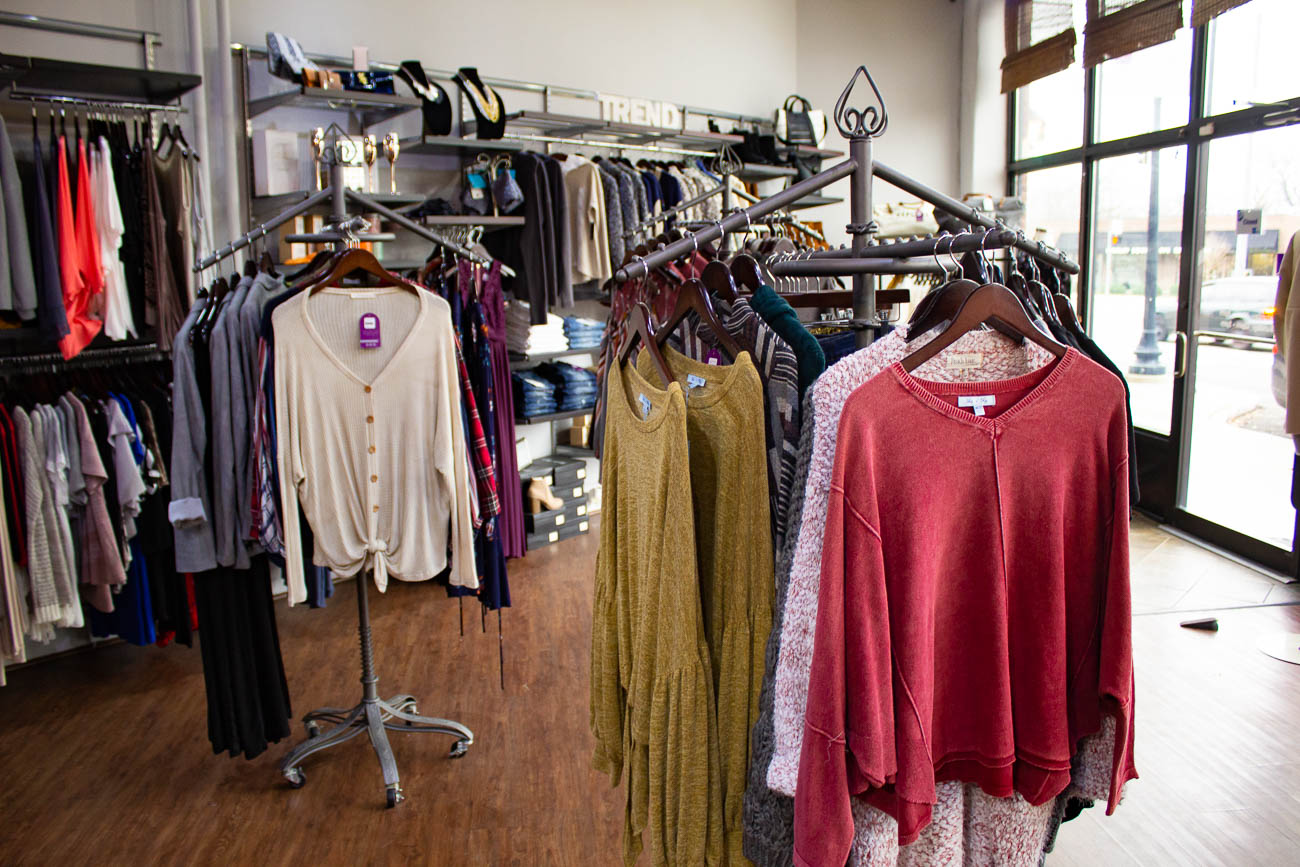 Trend Boutique opened its Oakley Square location in May 2009. Additionally, it features an online store that offers clothing, jewelry, and gifts without having to leave the couch—something that can be hard to come by for a local brick and mortar. ADDRESS: 2946 Markbreit Avenue (45209) / Image: Katie Robinson, Cincinnati Refined // Published: 1.10.19