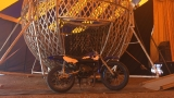 Circus stunt motorcycle stolen by 14-year-old