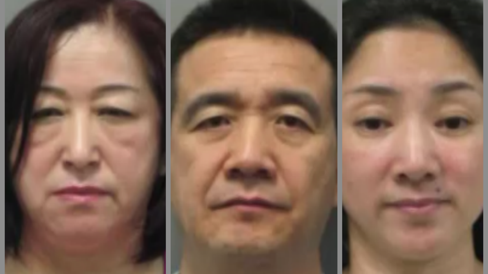 Cops bust 4 massage studios in Montgomery County, 30 sex