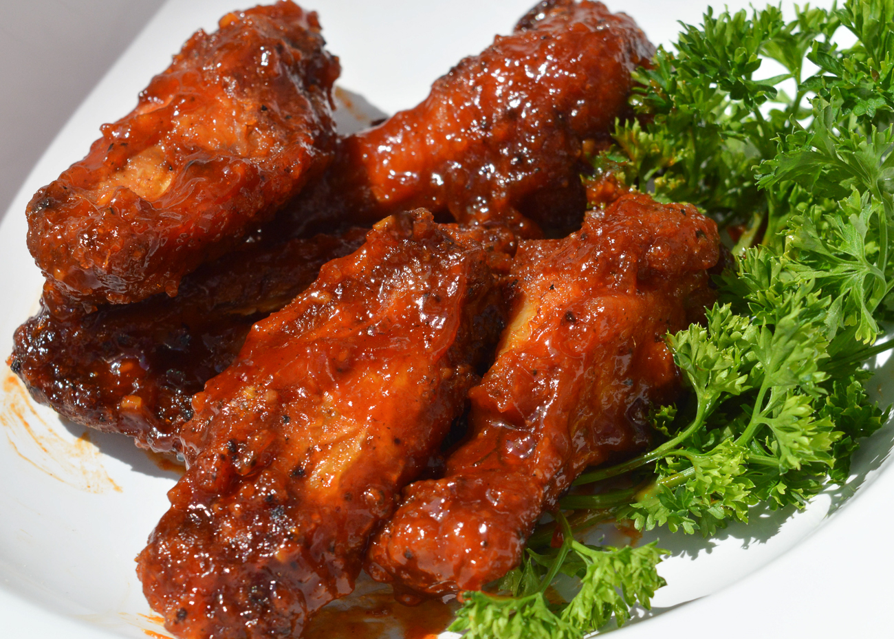 BBQ chicken wings{ }/ Image: Scott Dittgen // Published: 10.8.20