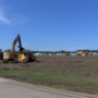 Airport begins overnight construction
