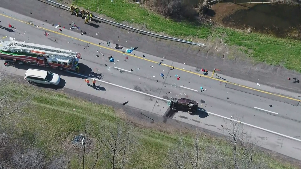 Two boys, ages 9 and 11 were killed in a crash on the Thruway Monday morning.