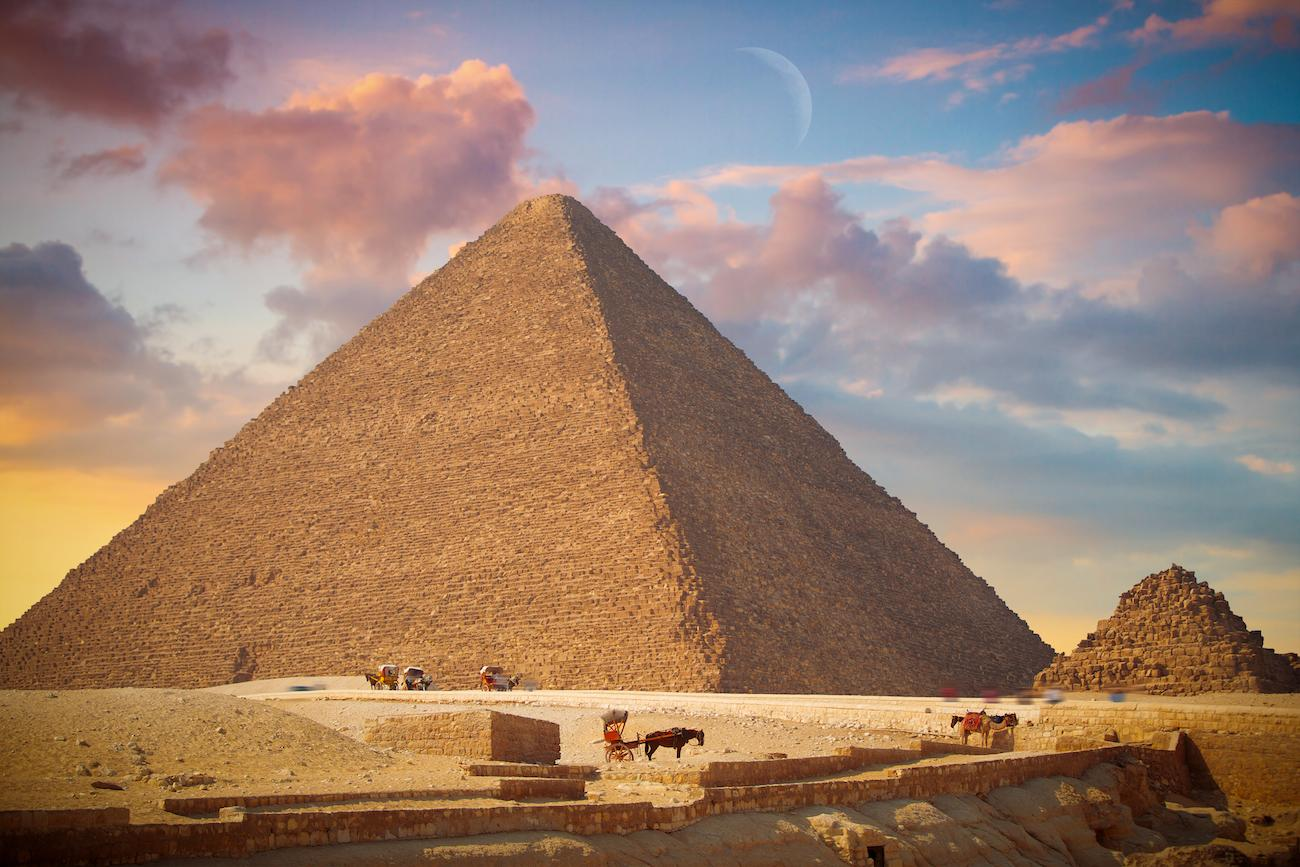 The Great Pyramid of Giza / Image: Lindrik, via Getty Images // Published: 5.15.19