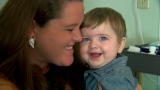 Recovering addict and young mother knows she's lucky to be alive