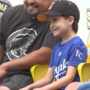 Council Bluffs boy battling brain cancer is 'hero for a day' at College World Series