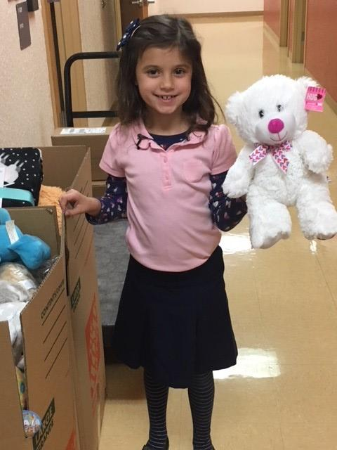Girl's idea to comfort Puerto Rican children with teddy bears takes off. (WPEC)
