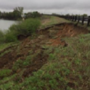 Chunk of Lake Leon dam 'slipped,' alert issued