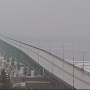 Mackinac Bridge reopened after closing due to falling ice