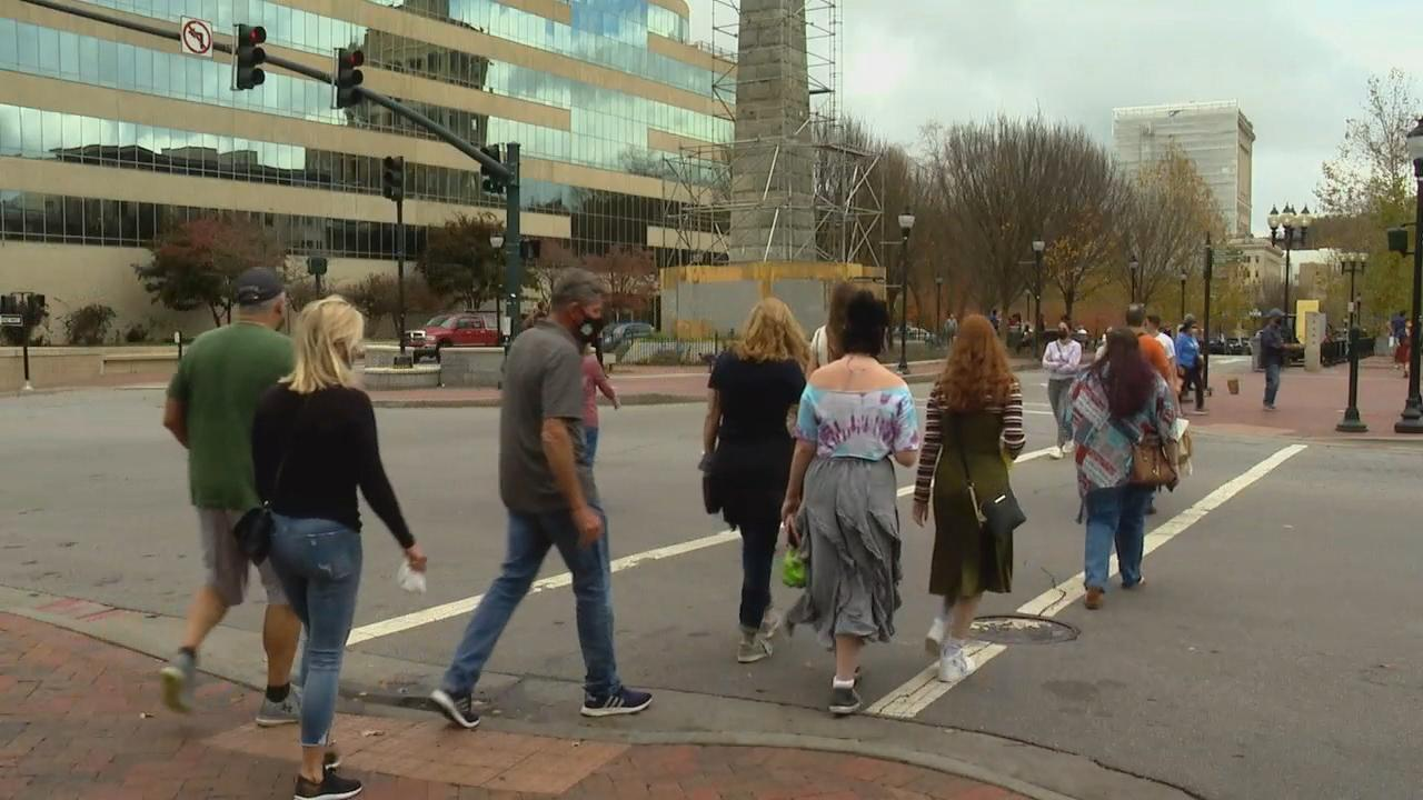 Surging COVID-19 numbers and Phase 3 restrictions have people making different plans for holiday gatherings. (Photo credit: WLOS staff)