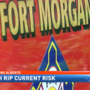 Fort Morgan to use portable rip current warning signs during Tropical Storm Alberto