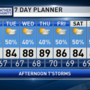 The Weather Authority: Humid air hangs around, more showers/storms today