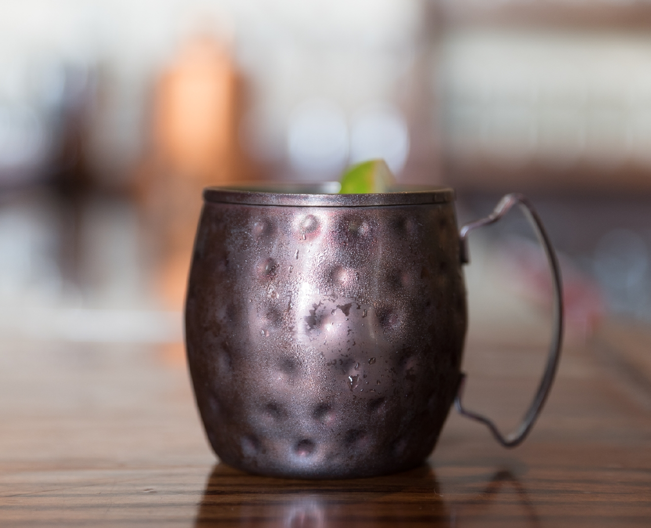 Classic Moscow Mule with OYO Vodka from Columbus, Ohio / Image: Sherry Lachelle Photography