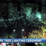Families get in holiday spirit with Fairhope tree lighting