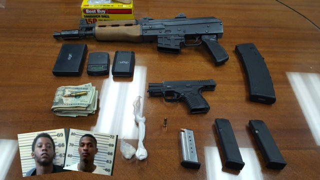 (IMAGE: WPMI){ }Mobile County Sheriffs Office busts alleged drug house in Prichard, makes two arrests