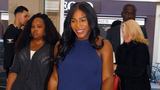 Serena Williams hosts celebrity pals for '50s-themed baby shower