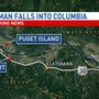 Woman dies after falling from ferry in Columbia River