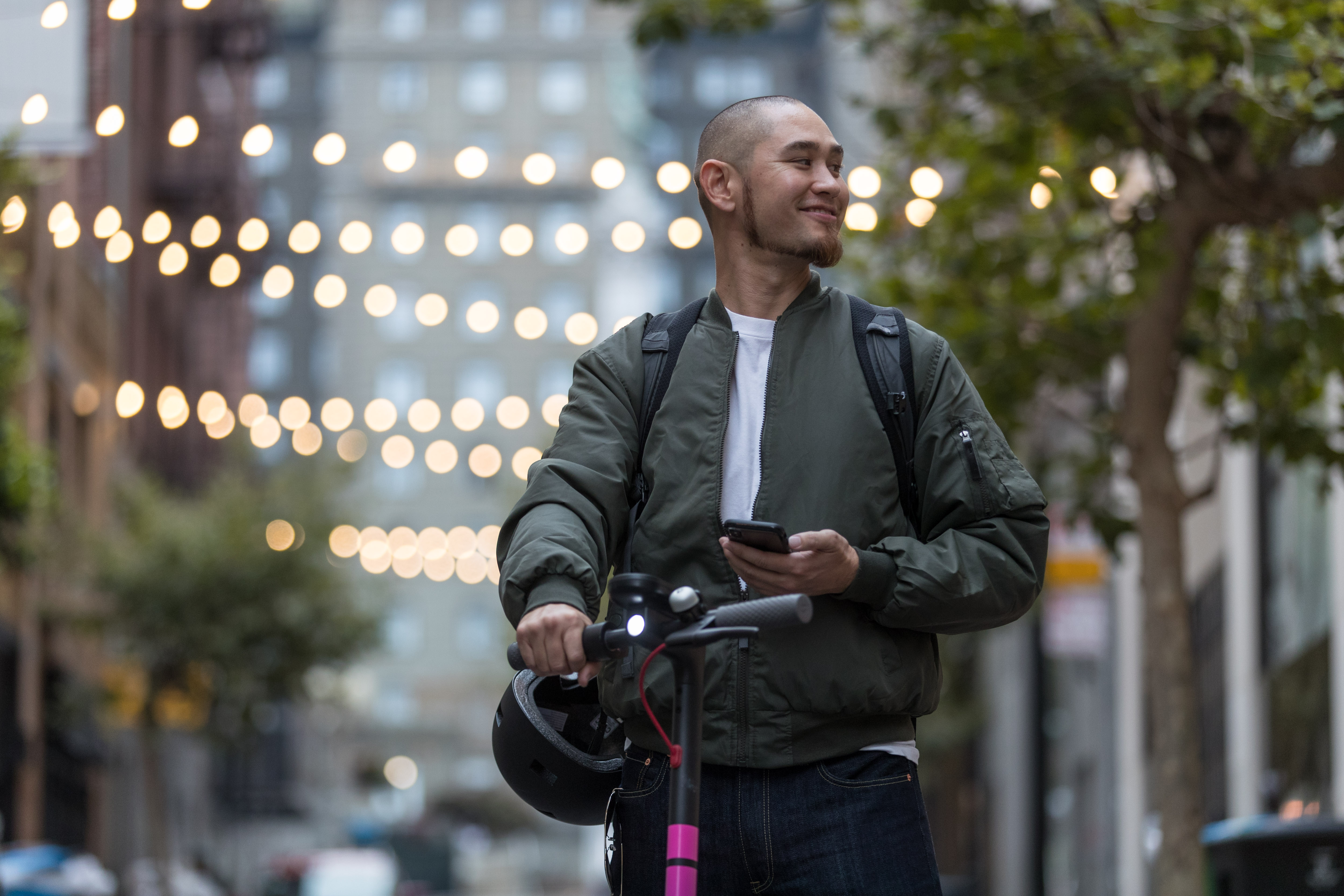 Lyft Scooters previously launched in Denver and Santa Monica, but D.C. will mark the first East Coast launch. (Image: Courtesy Lyft)