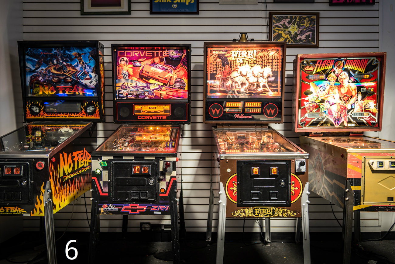 #6 - Arcade Legacy is the arcade mecca for those who wanna play Pinball, Donkey Kong, and Mario Kart for a single fee. You can find pictured location at the Cincinnati Mall, formerly the Forest Fair Mall. There's another Barcade location in Northside. / Image: Phil Armstrong