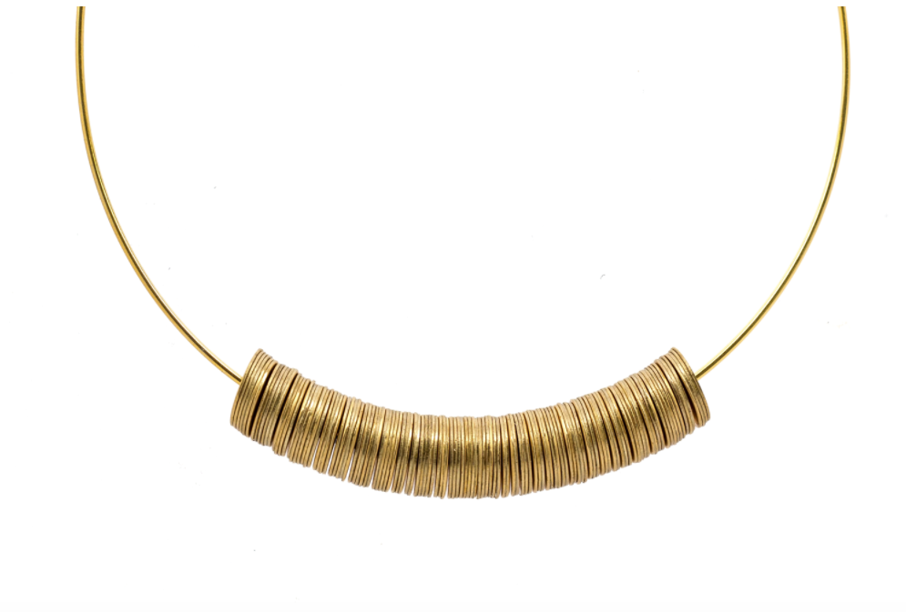 Kazamir Necklace by Maslo from Moorea Seal Collection ($56). Find on mooreaseal.com. (Image: Moorea Seal)