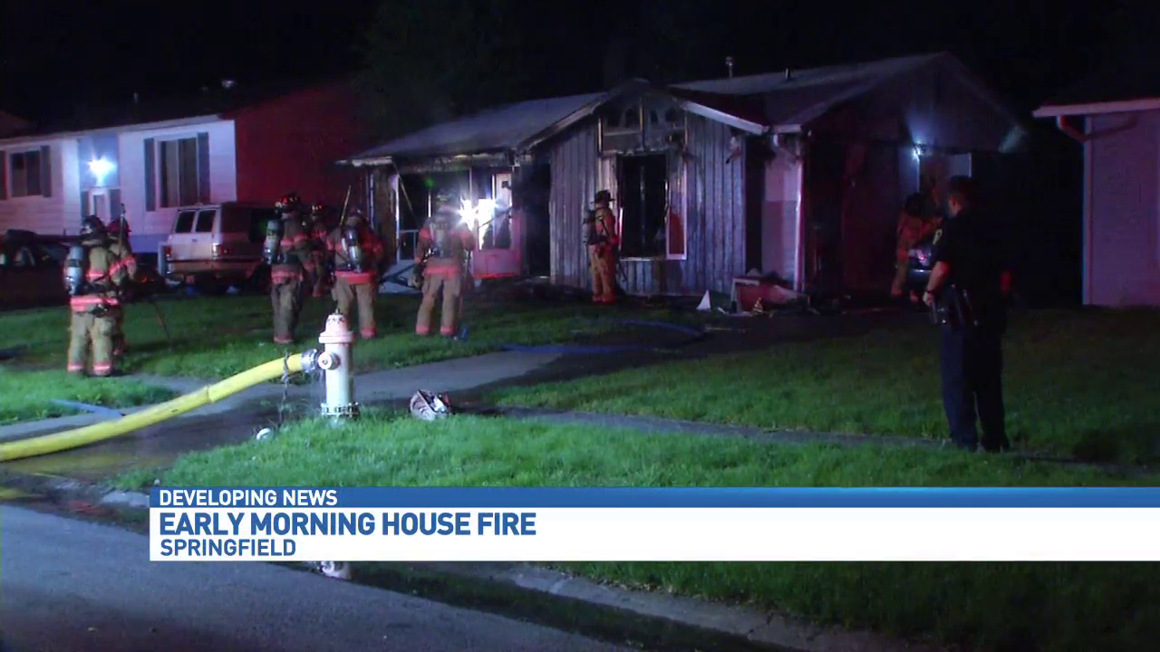 Fire crews were called to 2600 Griffiths Ave. just after 2 a.m. Friday. (WICS)