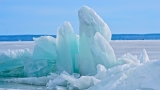 Ice shoves on Lake Winnebago