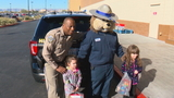 GALLERY | California Highway Patrol holds toy drive in Las Vegas