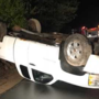 Teen driver flips truck in Newfield, deputies say