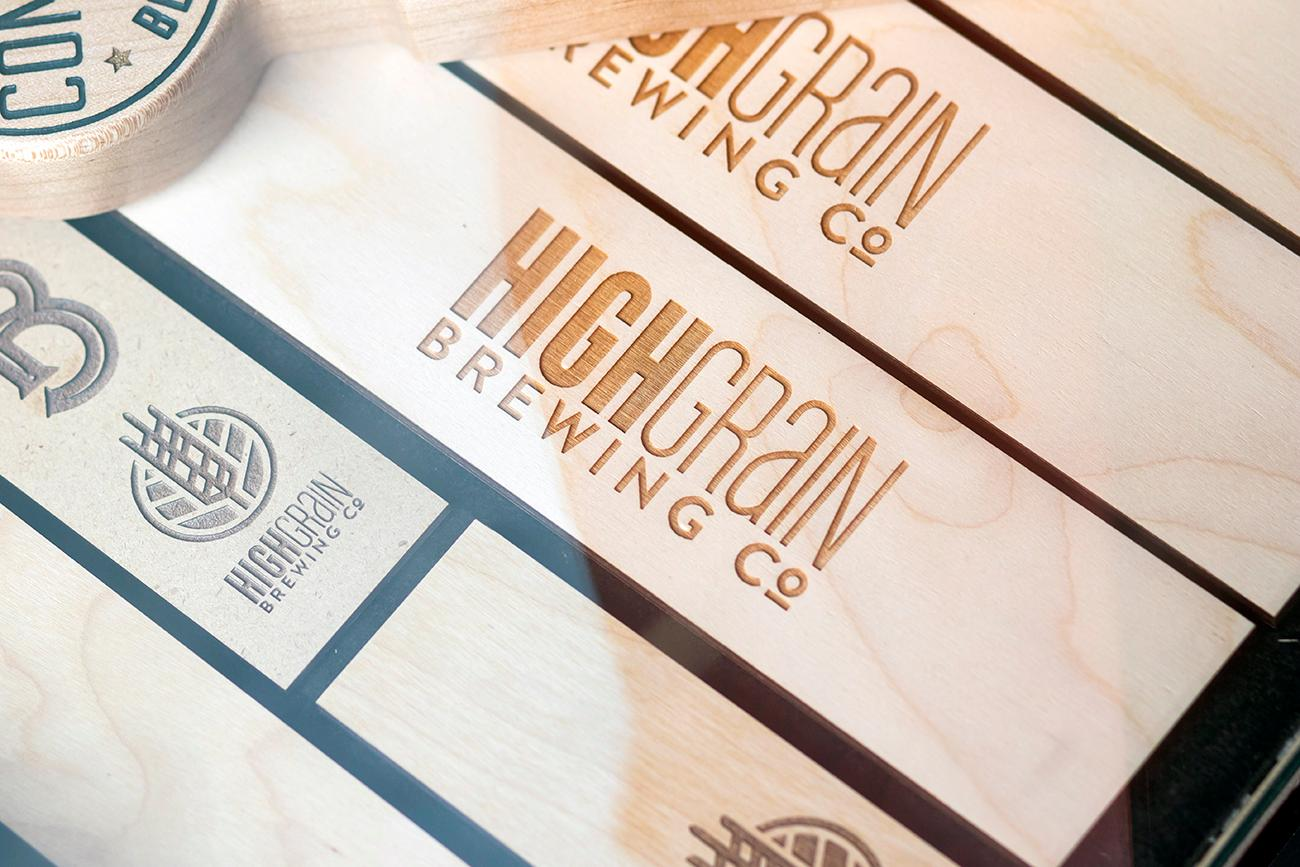 <p>Nine Giant and High Grain are a few local breweries who get their custom beer taps from Lorbach. / Image: Allison McAdams // Published: 3.1.20</p>