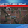 BGSU student, Fostoria student-teacher dies in crash Tuesday morning