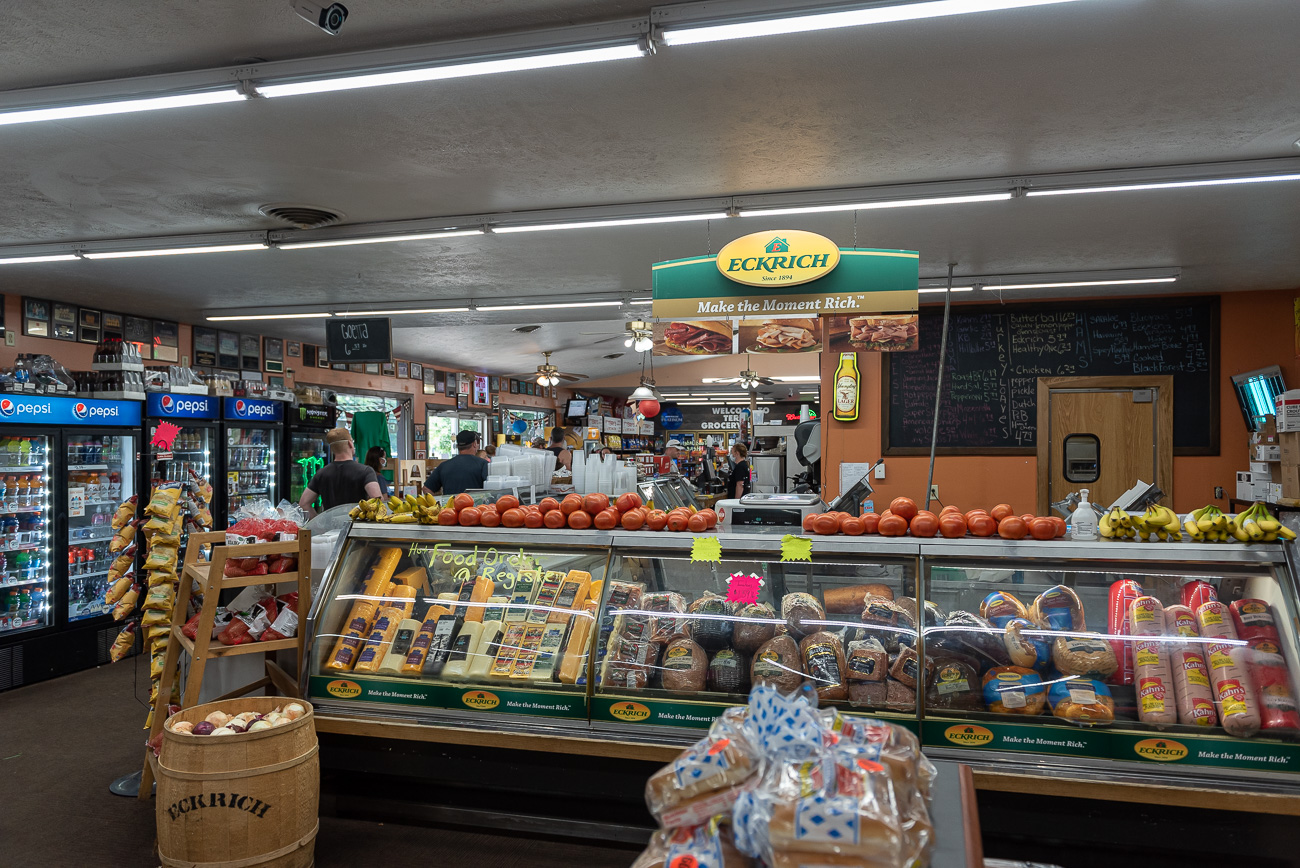 The pizza and grocery portion of Terry's is worth checking out, too. The one-stop-shop has anything you need including a deli, drinks, snacks, and more. It's been owned and operated by the McGinnis Family since 1978. ADDRESS: 1505 US-50, Lynchburg, OH (45142) / Image: Mike Menke // Published: 8.21.20