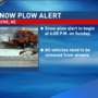 Wayne, NE issues snow plow alert