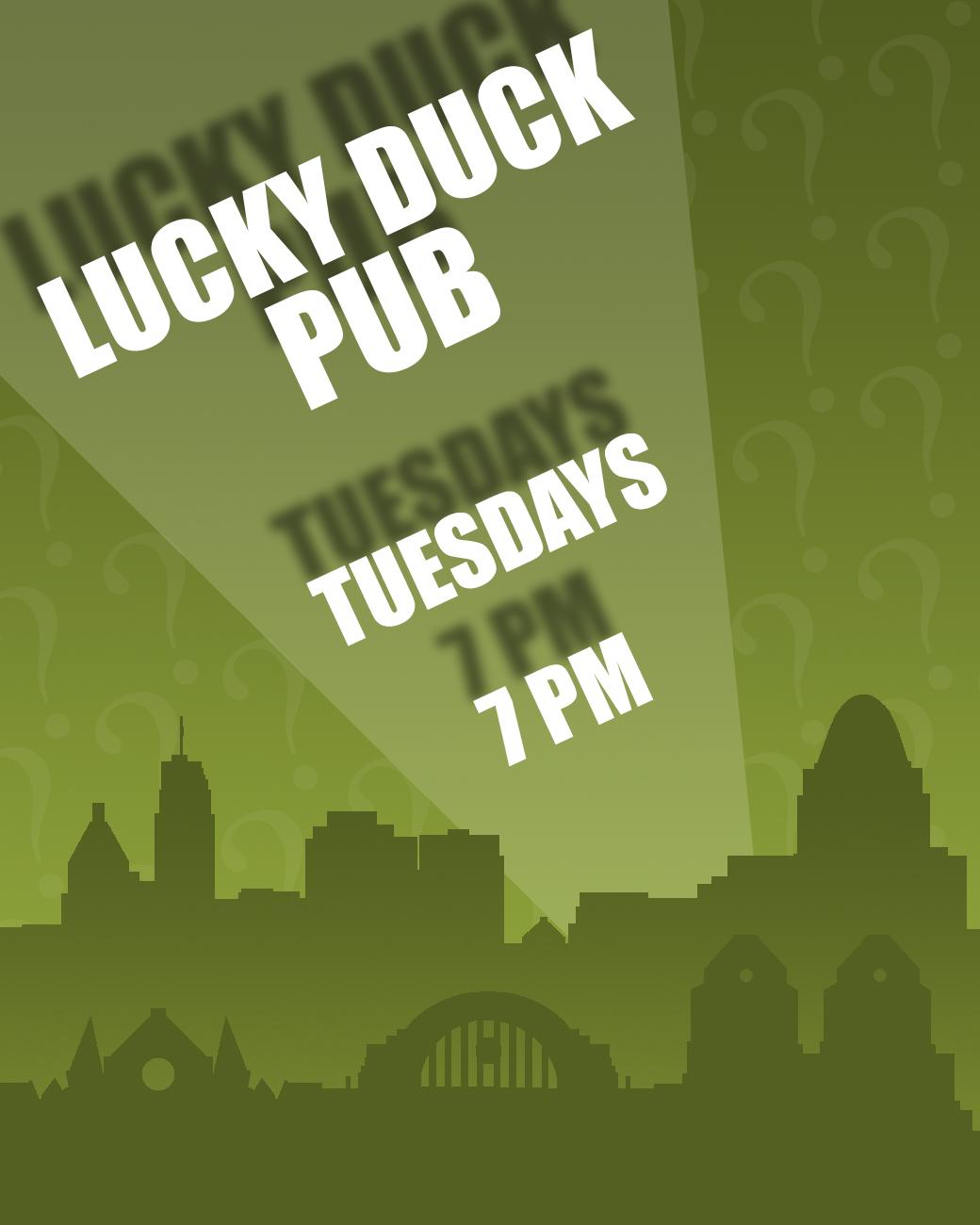 Lucky Duck Pub has trivia every Tuesday starting at 7 PM. ADDRESS: 6072 Limaburg Rd (41005) / Image: Phil Armstrong, Cincinnati Refined // Published: 8.30.17