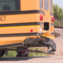 UPDATE: Man cited after hitting school bus in Dakota City