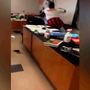 CAUGHT ON CAM | School teacher, staff member face off during class time