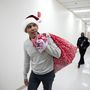 Barack Obama pays visit to D.C. children's hospital, as Santa