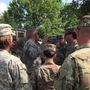 Arkansas National Guard troops arrive in Texas