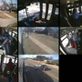 Dash camera footage shows fatal wrong-way crash between city bus and car