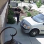 Porch pirate caught on camera