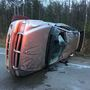 Teen rolls car after swerving to miss deer
