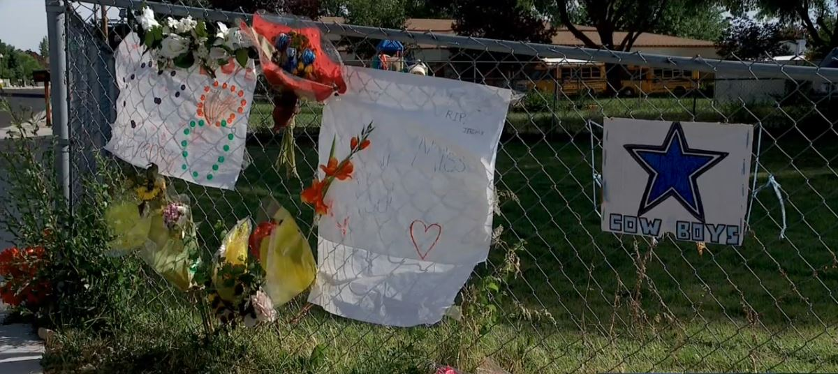 Friends, strangers contribute to growing memorial for man who was killed defending dog (KUTV)