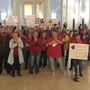 Fired up and fed up: teachers, school personnel flood West Virginia State Capitol