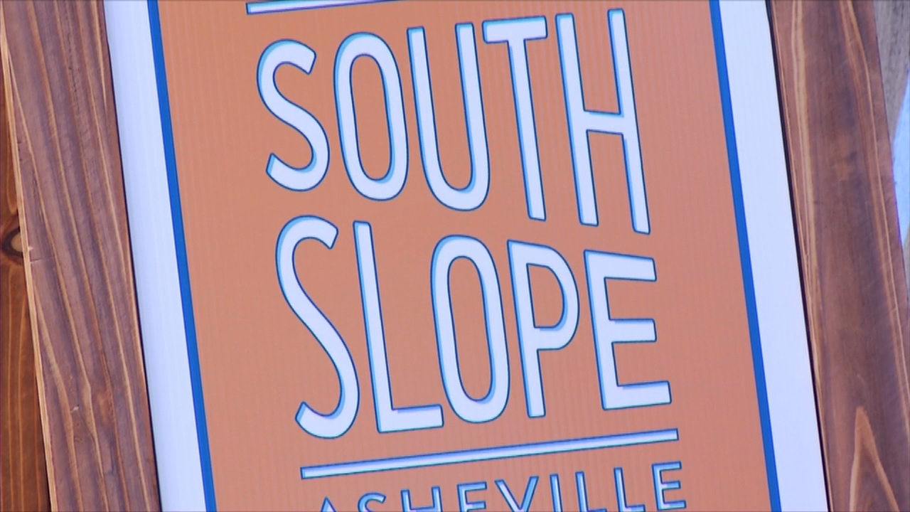 From 10 a.m.-5 p.m. every Thursday and Friday through January, you can stop by The Refinery at 207 Coxe Ave. Planners will be on hand to listen to your thoughts about what you'd like to see for the South Slope area. (Photo credit: WLOS staff)